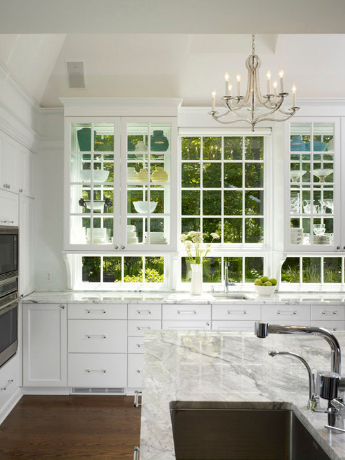 Glass Cabinet Over Sink Ideas, Pictures, Remodel and Decor