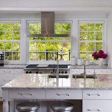 Traditional Kitchen by Stuart Cohen & Julie Hacker Architects LLC