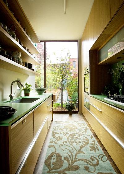 Contemporary Kitchen by Erdreich Architecture, P.C.