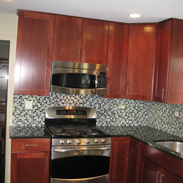 Kitchen with Bling
