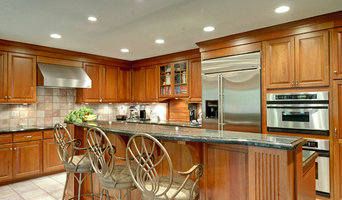 Kitchen with built ins.