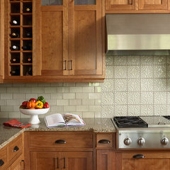traditional kitchen by LiLu Interiors