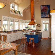 Farmhouse Kitchen by Dan Nelson, Designs Northwest Architects