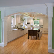 Traditional Kitchen by Cushing Custom Homes, Inc.