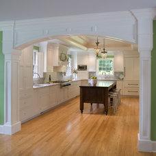 Traditional Kitchen by Cushing Custom Homes, Inc.