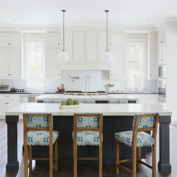 Kitchen with Double Island