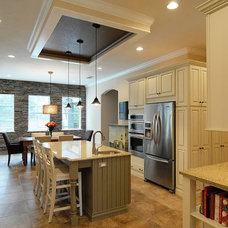 Contemporary Kitchen by Krista Agapito - S&W Kitchens, Inc.
