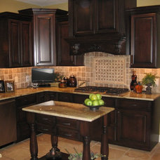 Traditional Kitchen by BJ Armstrong Custom Homes