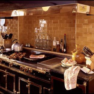 Urban kitchen photo in Chicago