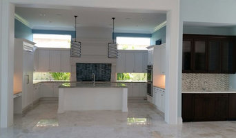 Kitchen with home wet bar