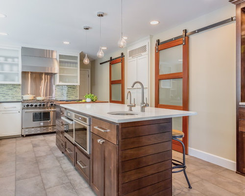 Oven In Island Houzz