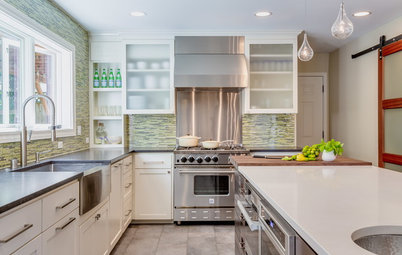 Kitchen of the Week: Taking Over a Hallway to Add Needed Space