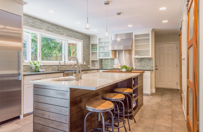 Transitional Kitchen by Design Harmony