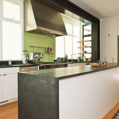modern kitchen by Mueller Nicholls Cabinets and Construction