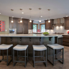 Transitional Kitchen by My House Design Build Team