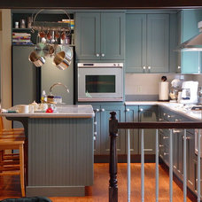 Transitional Kitchen by Maggie McManus Kitchens & Baths