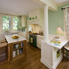 Traditional Kitchen by Clawson Architects, LLC