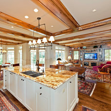 rustic kitchen by Andrew Roby General Contractors