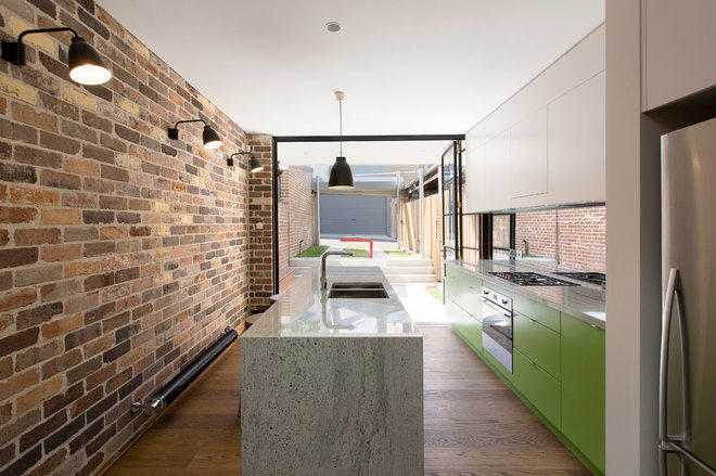 Industrial Kitchen by Danny Broe Architect