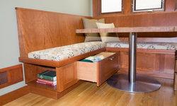 Kitchen with Nook & Desk
