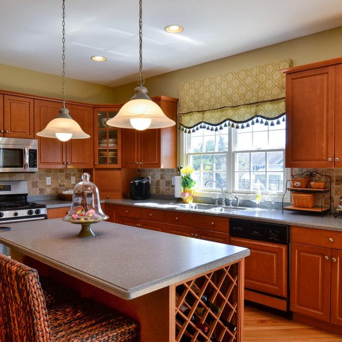New Kitchen in Sage Green