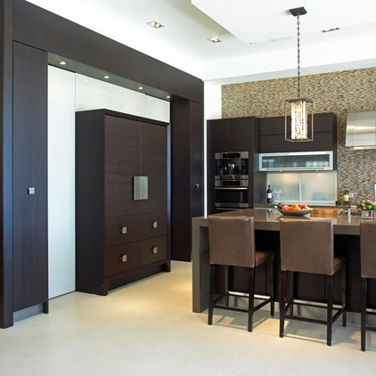Contemporary Kitchen by Studio Becker by Troy Adams