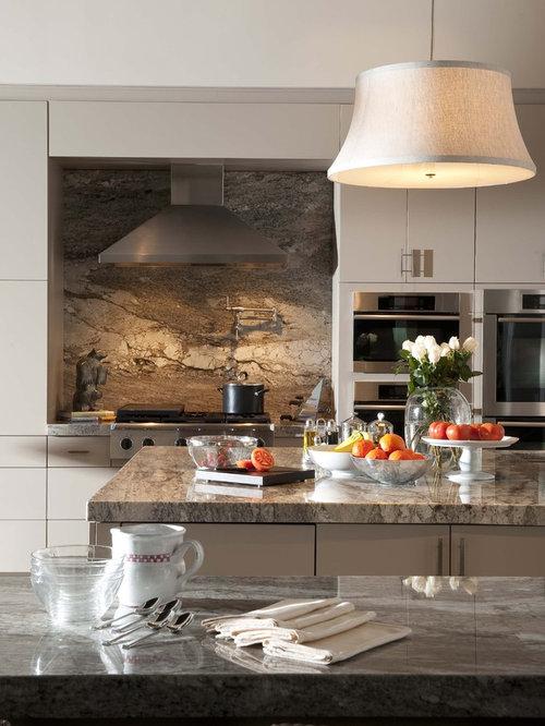 Granite Backsplash Houzz