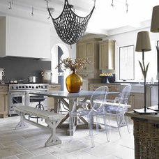 Eclectic Kitchen by Wolfe Rizor Interiors
