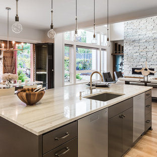 Kitchen Worktops, Islands and Splashback