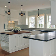 Traditional Kitchen by Kristy Zajac M.A.