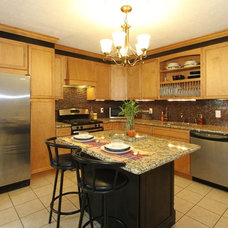 Traditional Kitchen by Remya Warrior Designs