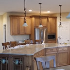 White Cottage Kitchen - Traditional - Kitchen - Grand ...