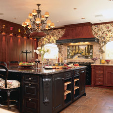 Rustic Kitchen by Kitchen Designs by Ken Kelly, Inc. (CKD, CBD, CR)