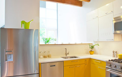 Crazy for Color? Your Kitchen Cabinets Want In