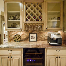Eclectic Kitchen by Collinas Design & Construction