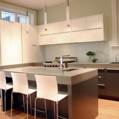 modern kitchen by Rebekah Zaveloff