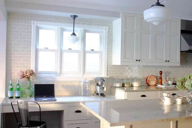 American Traditional Kitchen by KitchenLab Interiors