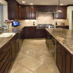 traditional kitchen by StoneMar Natural Stone Company LLC
