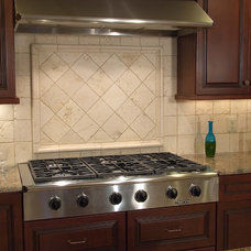 Eclectic Kitchen by StoneMar Natural Stone Company LLC