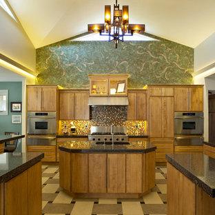 Merveilleux Large Contemporary Open Concept Kitchen Photos   Inspiration For A Large  Contemporary U Shaped Porcelain