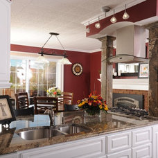 Traditional Kitchen by Avanti Marble & Granite Inc.