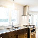 Piano White Contemporary Kitchen Calgary By Fifth