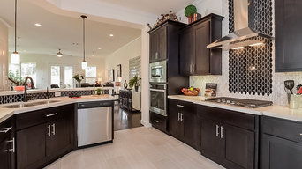 Kitchens are open and spaceous