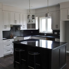 Traditional Kitchen by Aristocrat Floors