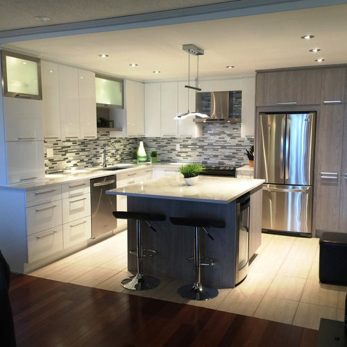 Affordable montreal kitchen design ideas renovations photos for Kitchen design montreal