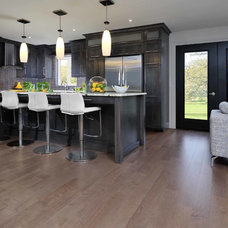 Contemporary Kitchen by Ayr Flooring Inc.