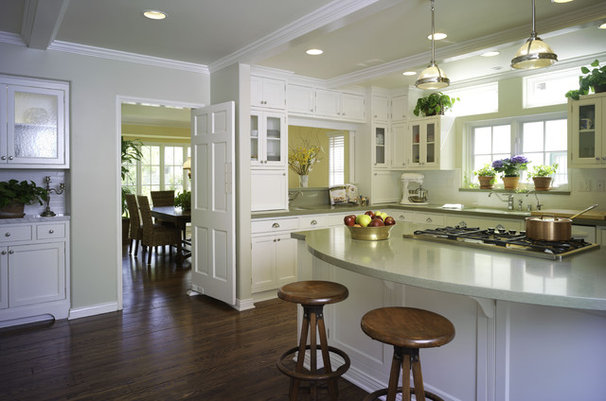 Traditional Kitchen by Bonnie Sachs, ASID