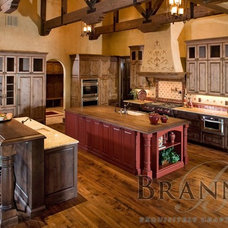 Mediterranean Kitchen by Brannen Design & Construction
