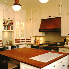 Traditional Kitchen by Brown Felicetta Designs