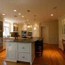 Traditional Kitchen by Brown Felicetta Designs